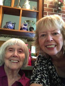 Loretta with Colista Ledford